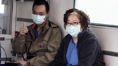 Coppia cinesi termina riabilitazione