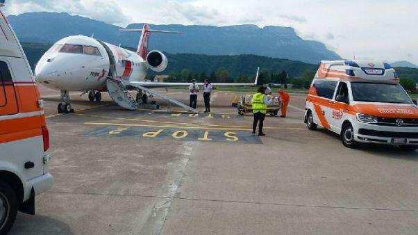 2 pazienti rientrati da Germania, stanno