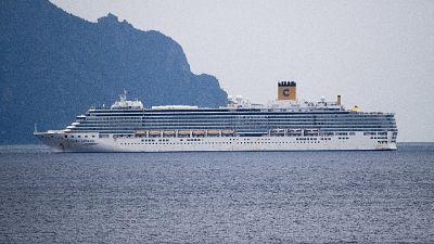 Covid, Costa Deliziosa a Genova