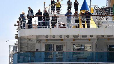 Costa Deliziosa, sbarco passeggeri