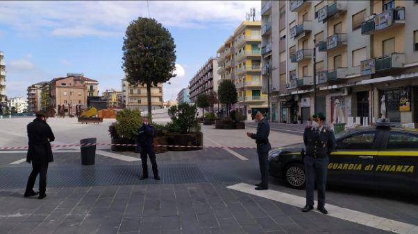 Sequestrata piazza Bilotti a Cosenza