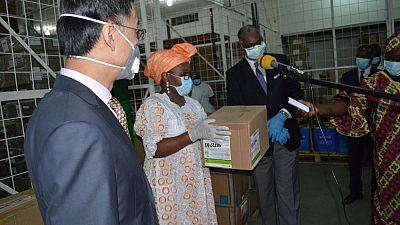 Coronavirus - République du Congo : le Congo reçoit de nouveaux lots des produits