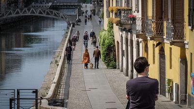 In Lombardia in forte calo decessi