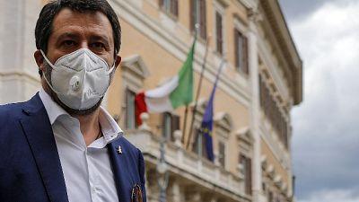 Lega deposita mozione sfiducia Gualtieri