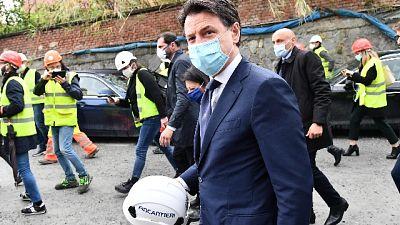 Conte, Genova modello per l'Italia