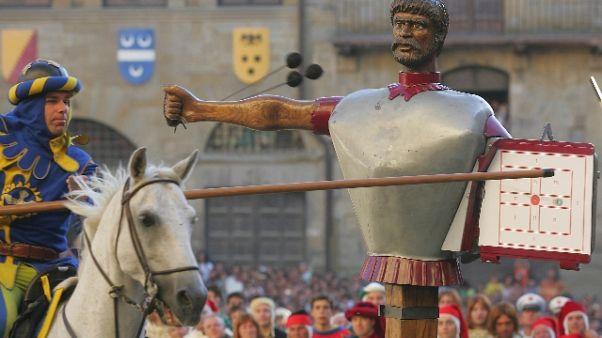 Arezzo annulla Giostra Saracino a giugno