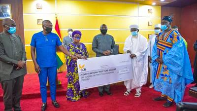 Coronavirus - Ghana: Muslim Community donates 130,000 Cedis to COVID-19 National Trust Fund