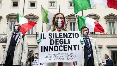 Meloni, Italia non è reality show