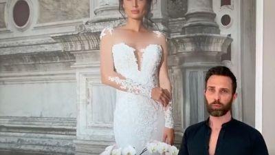 Fase 2: stilista brucia 9 abiti da sposa