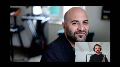 Taranto, artisti su web