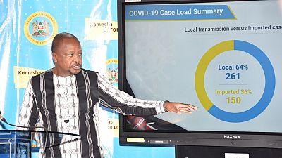 Coronavirus - Kenya: COVID-19 update by CS Health, Sen. Mutahi Kagwe