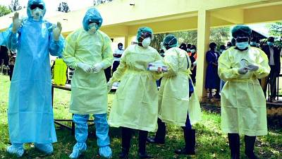 Coronavirus - Kenya: Case Management Training conducted for healthcare workers