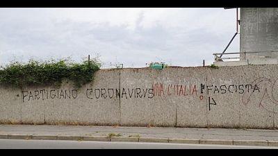 Anpi, scritte neofasciste nel Milanese