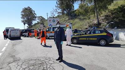 Un centinaio tamponi su strade Calabria