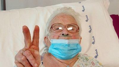 Nonnina 95 anni sconfigge Covid-19