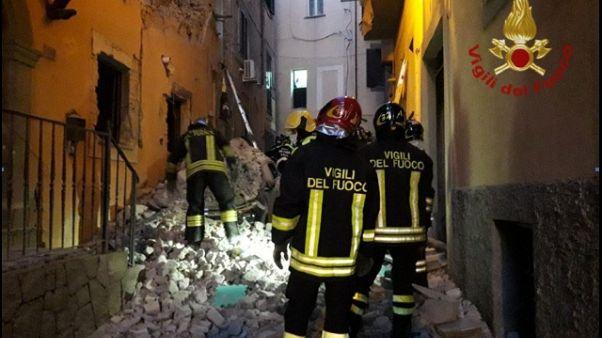 Esplosione palazzina Marino, tre ferite