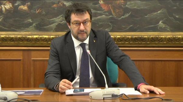Salvini, mozione sfiducia a Bonafede