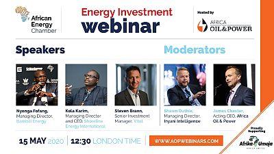 Un lobby de l'énergie organise un webinaire sur le financement de la reprise des marchés africains du pétrole et du gaz