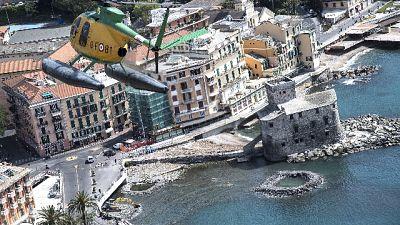 Lungomare Rapallo isola pedonale