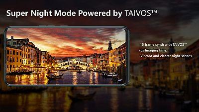La technologie TAIVOS™ du TECNO CAMON 15 : le déclic pour des photos de nuit d'une clarté exceptionnelle