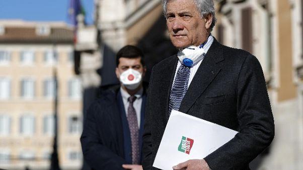 Tajani, no ai giochini di Palazzo