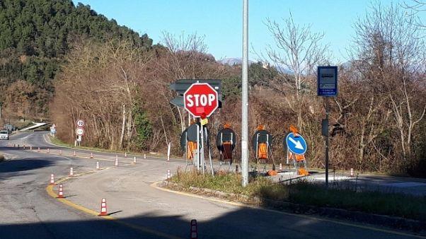 Cede giunto viadotto E45 in Toscana