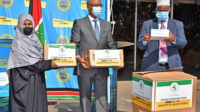 Coronavirus - Kenya: The Intergovernmental Authority on Development  (IGAD) Secretariat has donates basic Personal Protective Equipment to Kenya