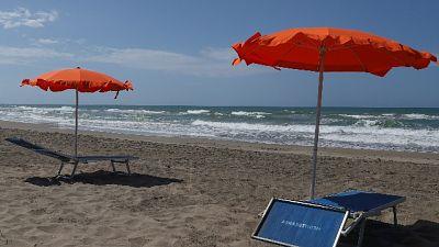Spiagge: in Liguria si perde 75% posti