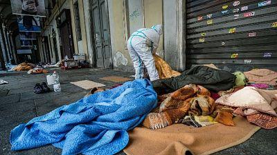 Torino: senzatetto trasferiti, tamponi tutti negativi