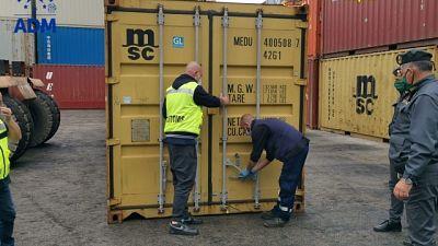Sequestro 8 tonnellate rifiuti speciali