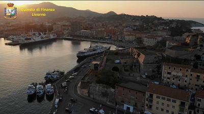 Saponi e cocaina,8 arresti in blitz Elba