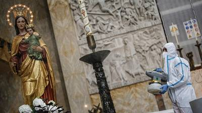 Papa, domani Messe, attenzione a norme