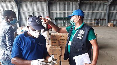 Coronavirus - Afrique : Les équipements pour combattre le COVID-19 arrivent à São Tomé et Príncipe