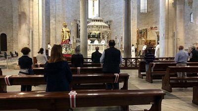 In Basilica S.Nicola di Bari prima messa