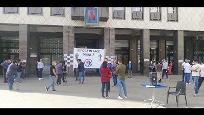 Protesta dei ristoratori a Cosenza