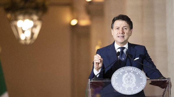 Conte,sacrificio italiani ha dato frutti