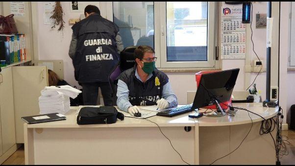 Gdf Roma, sequestro da 43 mln per frode