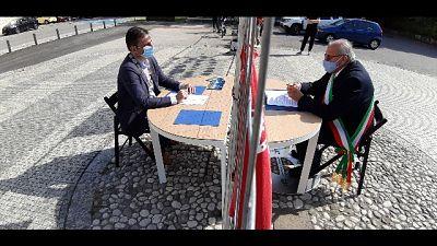 Fase 2: scrivania a confine Gorizia