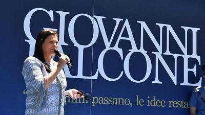 Santelli, storia Falcone reale a S.Luca