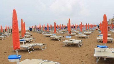 Riaperta stagione balneare nel Veneziano