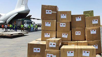 Coronavirus - Burkina Faso : Les Émirats arabes unis font don de 30 tonnes de matériel médical au Burkina Faso