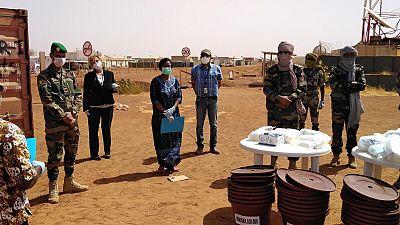 Coronavirus - Mali : Lutte contre le COVID-19 : la MINUSMA apporte un appui aux forces maliennes