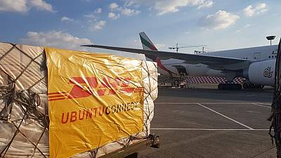 DHL Global Forwarding moves critical goods from China to Ghana