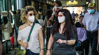 Fase 2: Piemonte,obbligo mascherine all'aperto per ponte 2/6