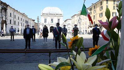 Mattarella, Brescia esempio di unità