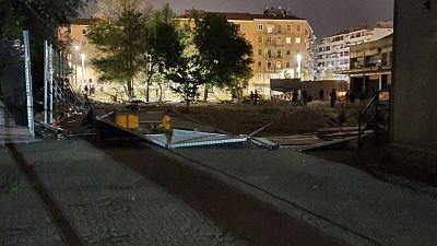 Occupato cantiere in periferia a Bologna