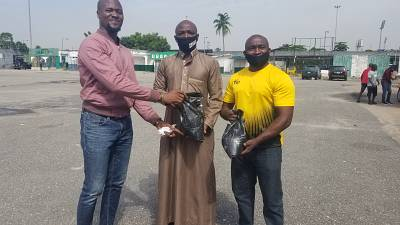 Nigeria Rugby Football Federation donates Food Palliatives to Players