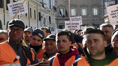 Domani gilet arancioni in piazza a Roma