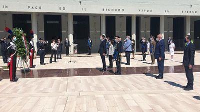 2 Giugno:ministro Boccia a Sacrario Bari