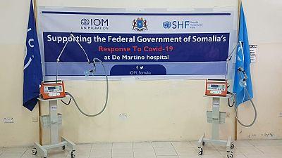 Coronavirus - Somalia: COVID-19 ventilators provided to help Somalia fight pandemic